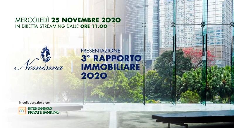 NOMISMA - 3 Rapporto sul Mercato Immobiliare 2020