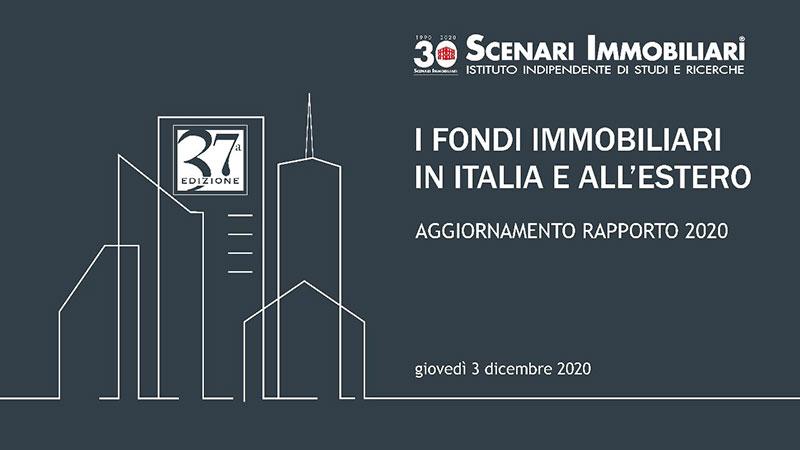 Scenari Immobiliari: Rapporto 2020 I-fondi-immobiliari-in-Italia-e-all'estero