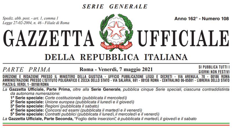 Gazzetta-ufficiale-108-2021