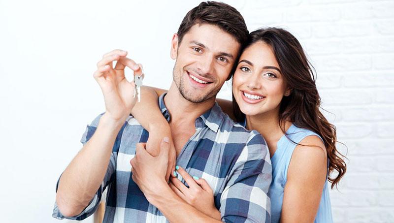 Giovani che acquistano casa